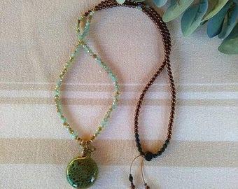 Romantic beaded necklace - Love - Valentine's day