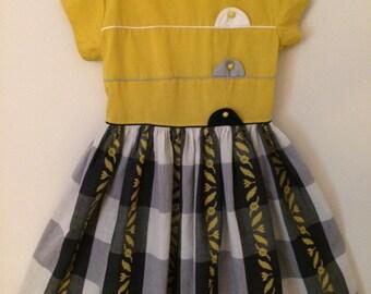 Girl's vintage school dress
