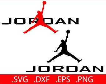 Jordan SVG File - Jordan Monogram - Jordan Clipart - Jordan SVG - Jordan Jump Man - Jordan Clip Art - Jordan Decal