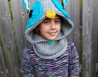 Hooded Cowl~ Owl