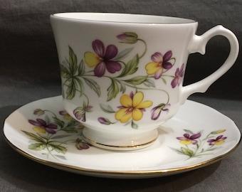 Duchess Fine Bone China Teacup and Saucer