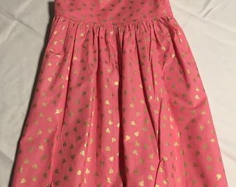 Pink Lady Bug Sundress