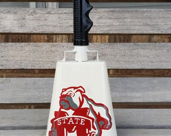 Mississippi State Cowbell--hand painted