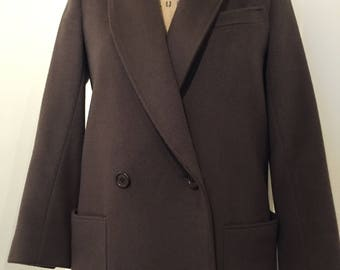 Brown Morton Bernard Coat by Harve Benard