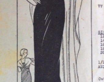 1930's Jean Harlow Gown Pattern
