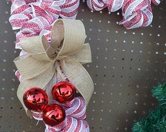 Candy Cane wreath
