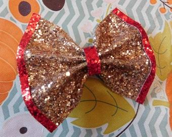 Gold Christmas Bow