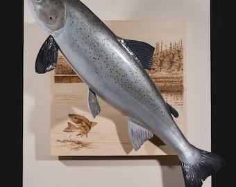 Miramichi Salmon (Atlantic Salmon with Miramichi River)
