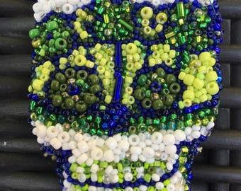 Little Green Skull