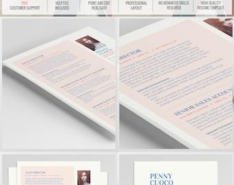 Creative Resume - Modern Resume Template - CV - Cover Letter - Professional Resume - Teacher Resume - Word Resume - Curriculum vitae -Resume