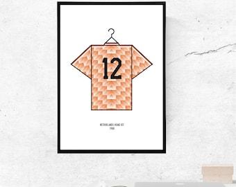 Netherlands 88' Kit - A3/A4 Print