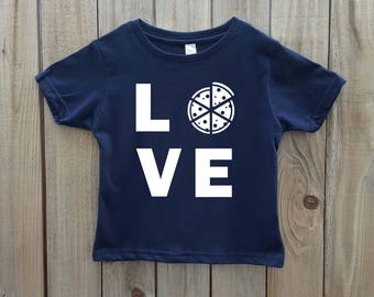 Kid's Pizza Shirt, Love Pizza Shirt, Toddler Pizza Shirt, Pizza T-shirt, Toddler T-shirt, Funny Pizza Shirt T-shirt, Unisex kids funny shirt