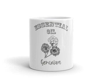 Essential Oil Geranium Mug