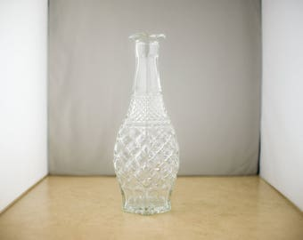 Cut Glass Crystal Decanter or Vase