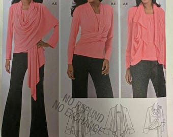 2603,  Sewing Pattern, Simplicity, Cardigan Pattern, Sizes M-XL, Out of Print