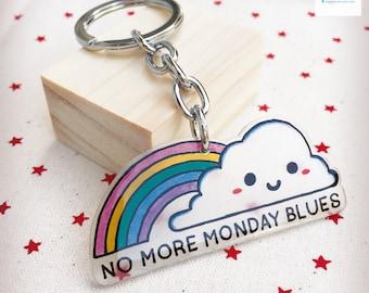 Handmade Rainbow Keychain
