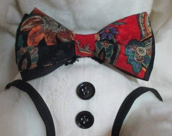 Bow Tie Vest Medium to large