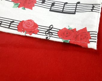 Music Lovers - 30x30 baby blanket