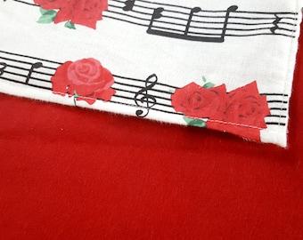 Music Lovers - 30x30 baby blanket