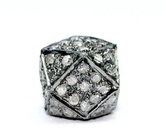 Silver Hexagon Ball