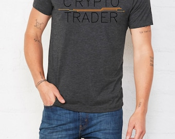 Bitcoin Shirt Crypto Trader  Premium • Cryptocurrency shirt • Cryptocurrency tshirt • Shirt Bitcoin • Ethereum tshirt • Bitcoin tshirt