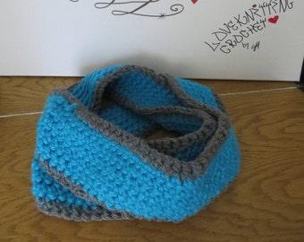 Scarf crochet loop Loopschal