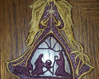 Free Standing Lace Angel of Bethlehem