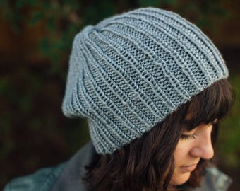 Women's Thin Ribbed Beanie