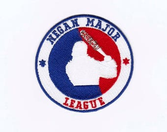 Baseball Iron on Sew on Embroidered Badge Applique Motif Patch