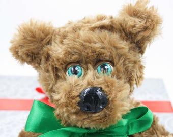 handmade plush teddy bear sir Flexington