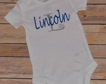 Personalized Baby Name Onesie