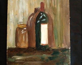 Wine, Jug and Jar