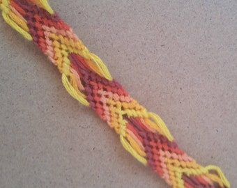 Fire Chevron Bracelet