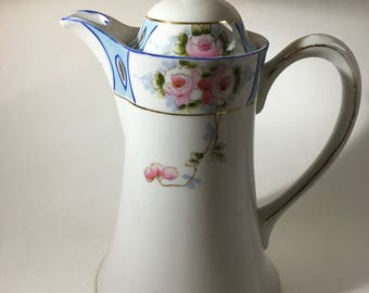 Hand painted Nippon Cocoa/Coffee/Tea Pot