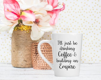 Building and Empire Mug - Downline gift - Boss Gifts for Women - Girl Boss Gifts - Boss Mug - Direct Sales Gifts - Sales Team Gift -