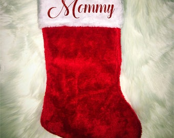 Personalized Christmas Stockings Personalize Stocking Custom Christmas Stockings Custom Stocking Family Christmas Stocking Personalized gift