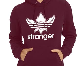 Stranger Things-Adidas Demogorgon hoodie,Stranger Things hoodie,stranger things gift,stranger things art,Harry Potter gift,Demogorgon hoodie
