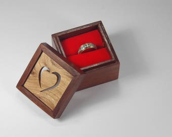 Ring Box for Wedding or Valentines Day