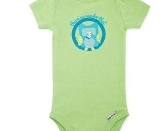 Theres a Nap for That Owl Funny Baby Onesie