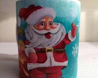 Santa Clause Christmas Mug