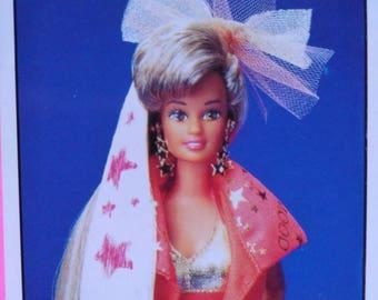 Chrome/Stickers Barbie Mattel (1993)