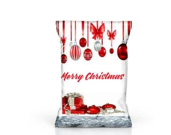 christmas chip bag