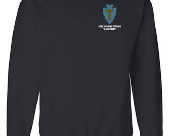 36th Infantry Division  Embroidered Sweatshirt-7037