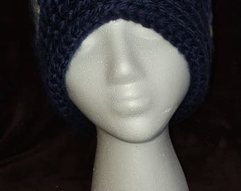 Textured childs hat