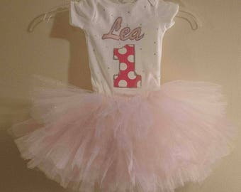 1st Birthday Baby Girl  Outfit