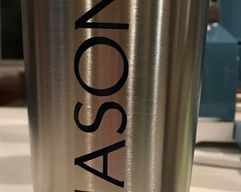 20oz Personalized Stainless Steel tumblers