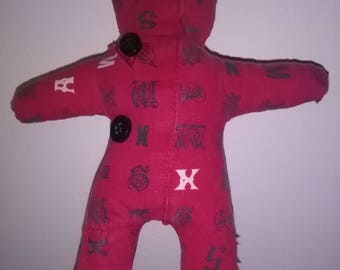 Red Voodoo Doll