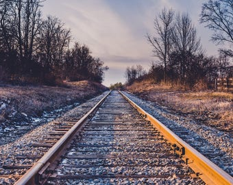 Train Tracks out in the Country