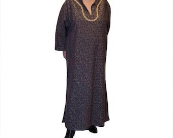 Maxi dress caftan style