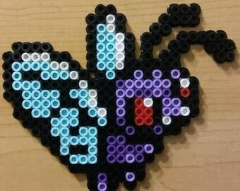 Butterfree Perler Bead Magnet